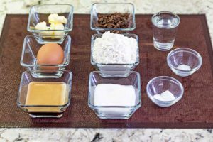 pastel mousse preparar ingredientes para bizcocho