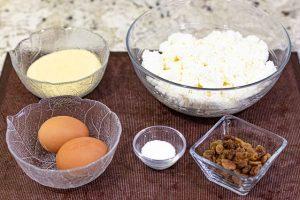 preparar ingredientes para syrniki