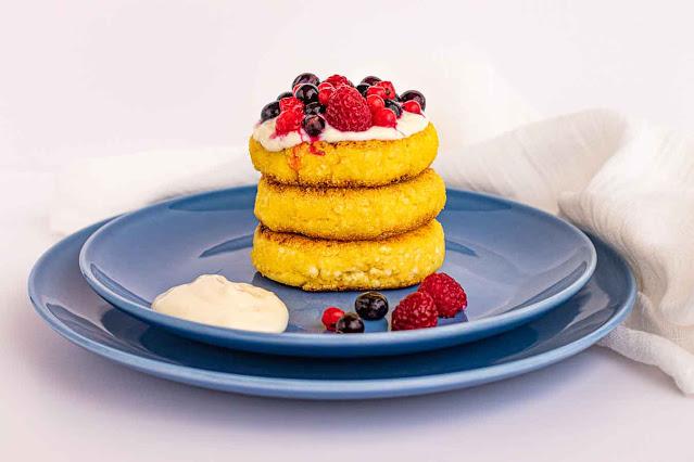 receta de syrniki tortitas rusas