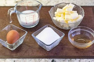 preparar ingredientes para crema charlotte