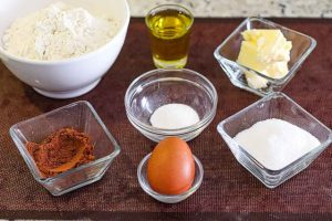 galletas de vainilla y chocolate preparar ingredientes