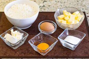 preparar ingredientes para galletas caracola