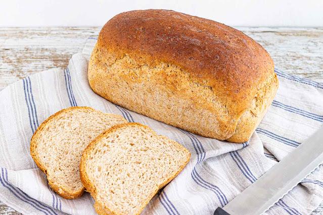 como hacer pan casero con harina integral